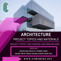 ARCHITECTURE Research Topics