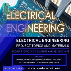 ELECTRICAL ENGINEERING Research Topics