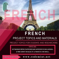 FRENCH Research Topics