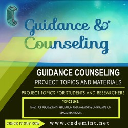 GUIDANCE  COUNSELING Research Topics