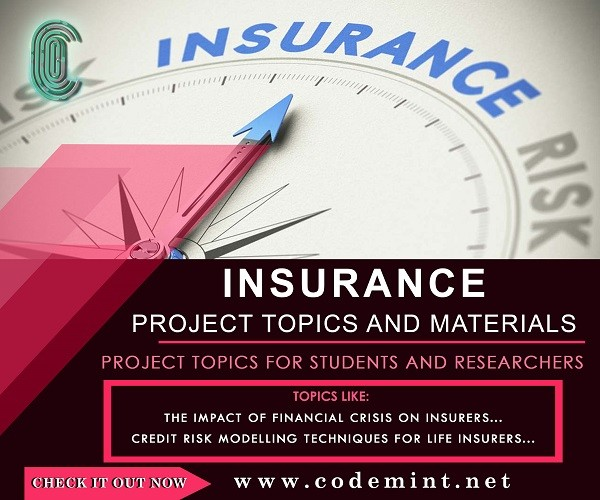 INSURANCE Research Topics