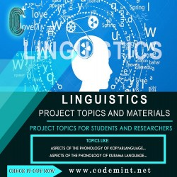 LINGUISTICS Research Topics