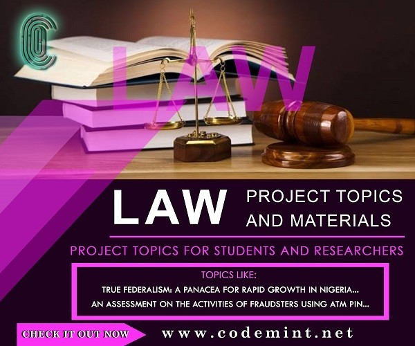 LAW Research Topics