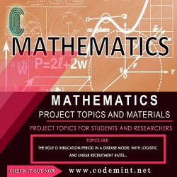MATHEMATICS Research Topics