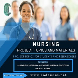 NURSING Research Topics