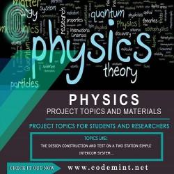 PHYSICS Research Topics