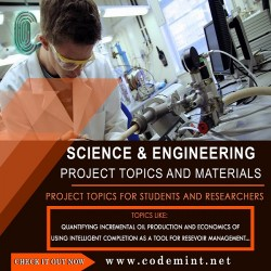 SCIENCE & ENGINEERING Research Topics