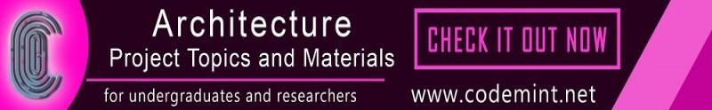 ARCHITECTURE Research Topics