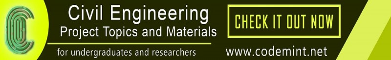 CIVIL ENGINEERING Projects Topics