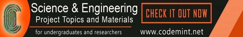 SCIENCE & ENGINEERING Projects Topics