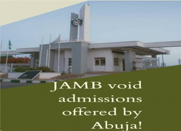 JAMB voids admissions offered by Uniabuja image