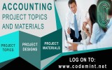 Codemint announces the addition of over 2200 new accounting project topics during their recent update. image