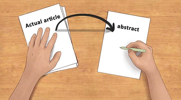 HOW TO WRITE A FINAL YEAR STUDENT PROJECT ABSTRACT image