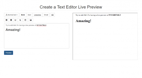 How to Create a Text Editor Live Preview - CodeMint Mint for Sale