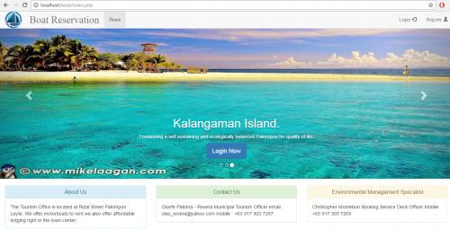Online Boat Reservation System