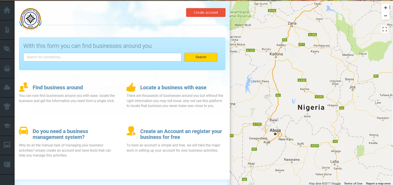 DEVELOPMENT OF A WEB AND MOBILE-BASED DIRECTORY FOR BUSINESS IDENTIFICATION AND LOCATION