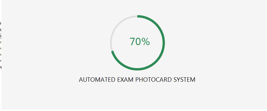 Exam Photo card System