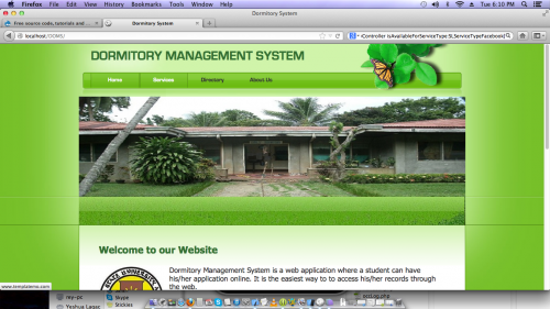 Online Dormitory Management