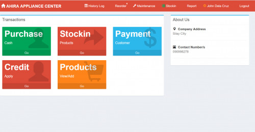 Sales and Inventory System with Credit