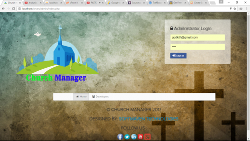 Church Management system - CodeMint Mint for Sale