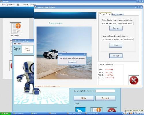 Image Steganography using Modified SDSA Algorithm