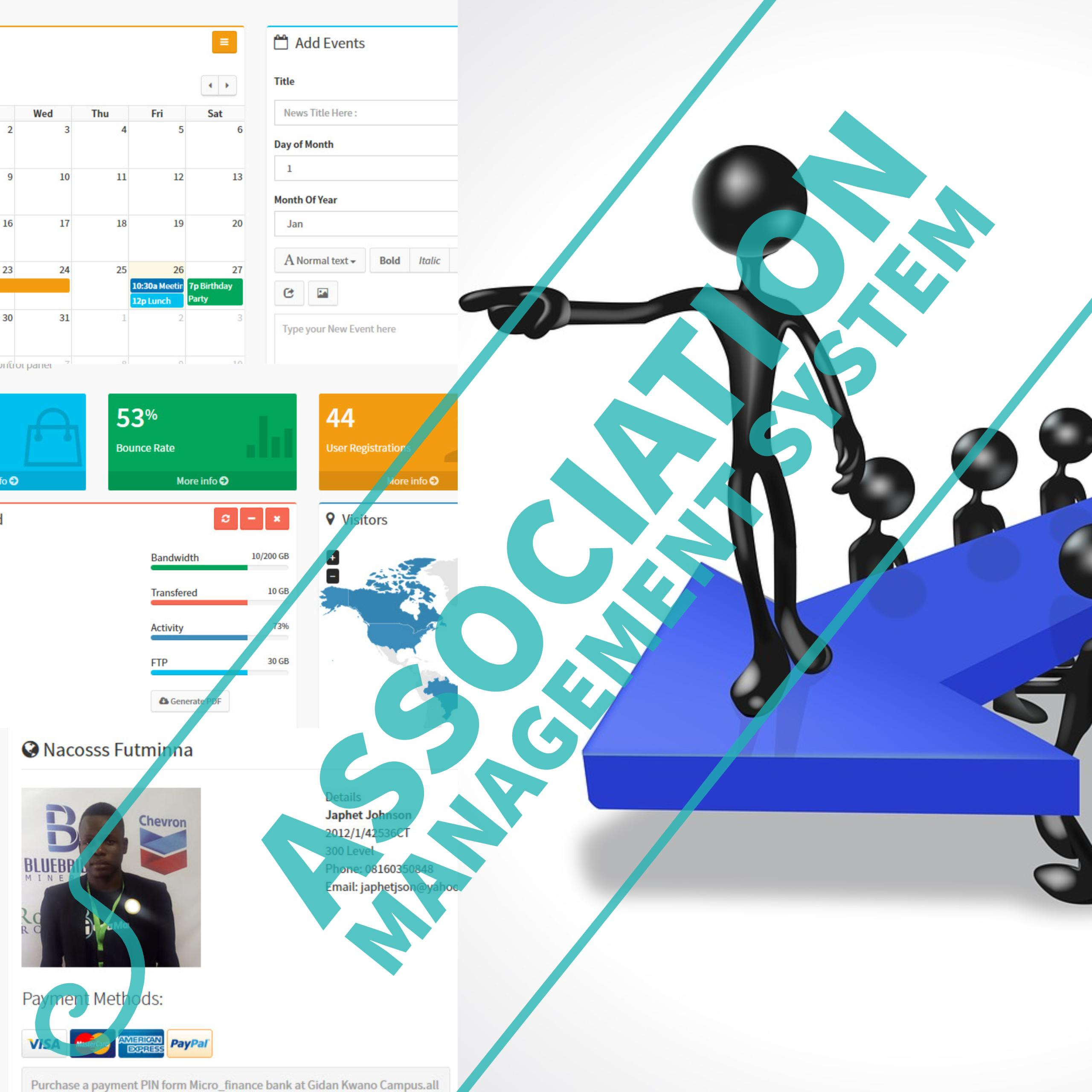 Association Management System - CodeMint Mint for Sale