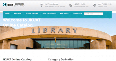 Online Library Catalog Using PHP