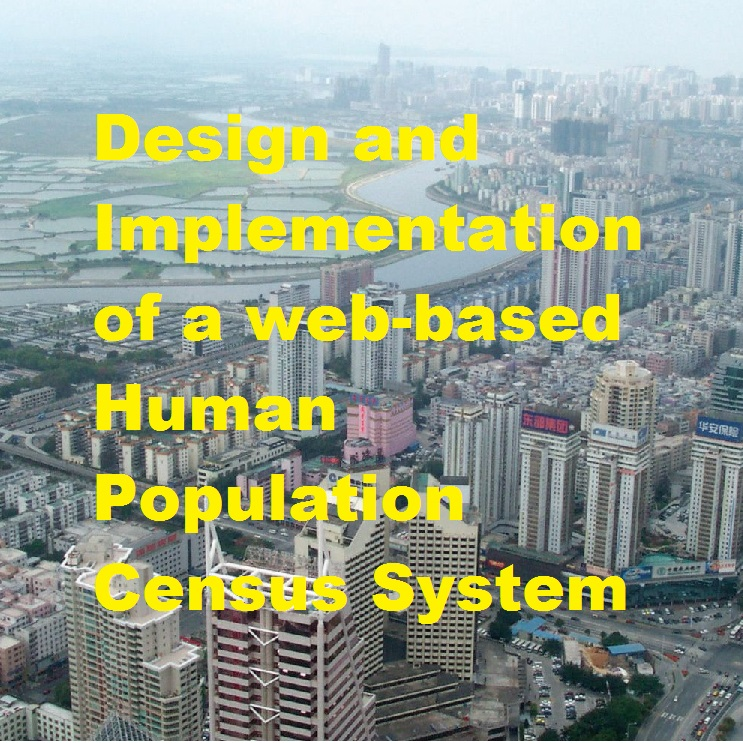 Design and Implementation of a web-based Human Population Census System image