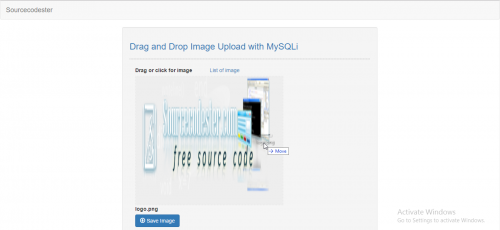 Simple Drag and Drop Image Upload with MySQLi - CodeMint Mint for Sale