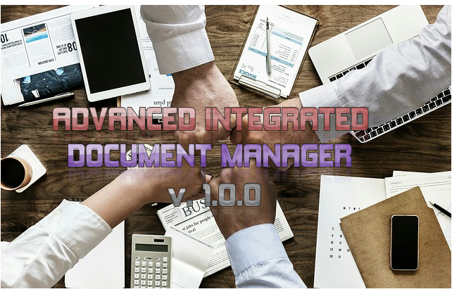 ADVANCED INTEGRATED DOCUMENT MANAGER - CodeMint Mint for Sale