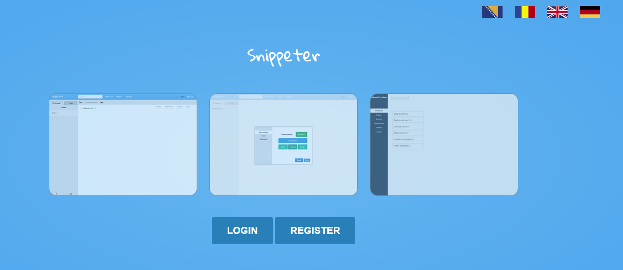 Design and Implementation of Code Snippet Manager