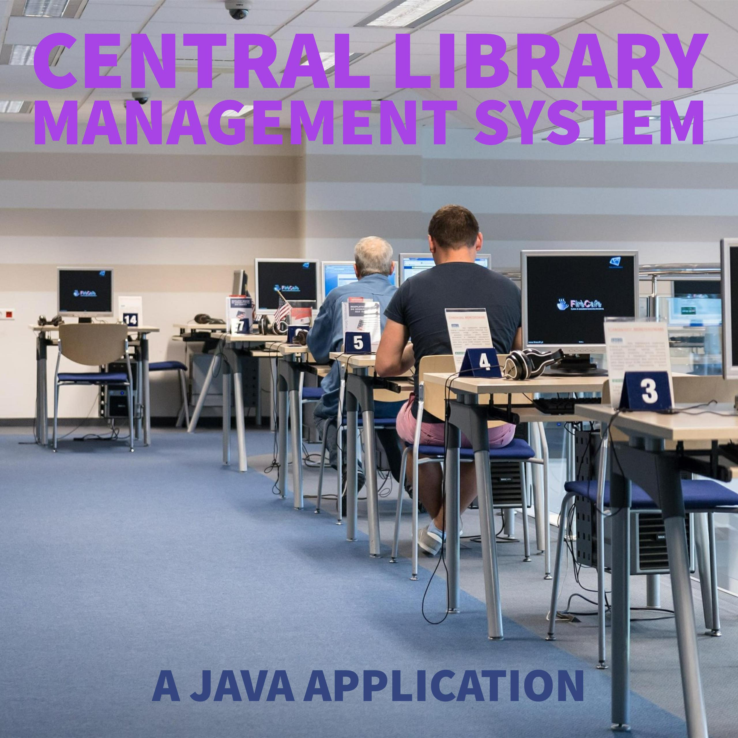 Central Library Management System - CodeMint Mint for Sale