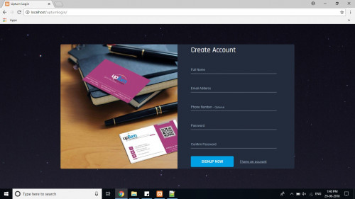 Creative Login Form with Validation  - CodeMint Mint for Sale