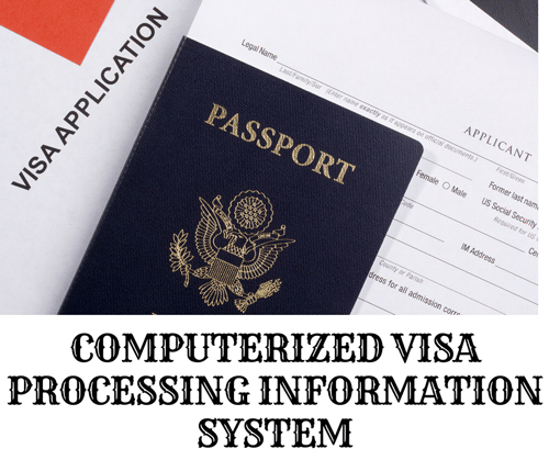 COMPUTERIZED VISA PROCESSING INFORMATION SYSTEM - CodeMint Mint for Sale