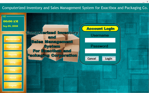 Computerized Inventory & Sales Management in C#