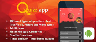 Design and Implementation of a Quiz Application Android Project