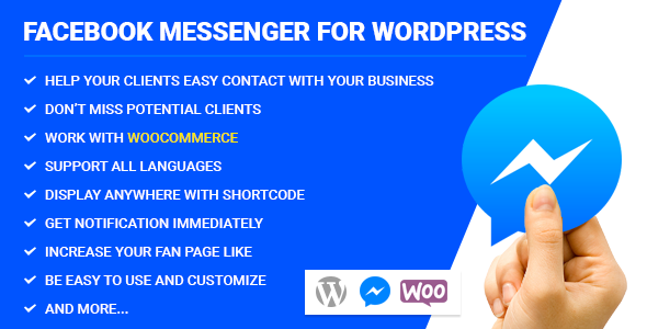 Design of Facebook Messenger for WordPress