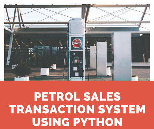 DESIGN AND IMPLEMENTATION OF PETROL SALES TRANSACTION SYSTEM - CodeMint Mint for Sale