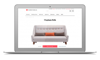 Online Furniture Store Using PHP