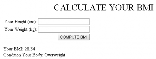 BMI Calculator - CodeMint Mint for Sale