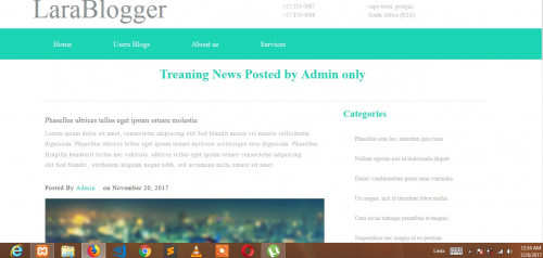 LaraBlogger - Laravel Blogging, CMS CRUD Generator - CodeMint Mint for Sale