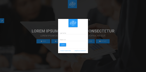 PopForms Material Design Responsive Bootstrap Modal Form Set  - CodeMint Mint for Sale