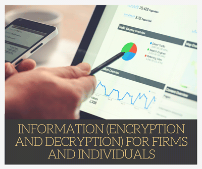 INFORMATION ENCRYPTION AND DECRYPTION APPLICATION FOR FIRMS AND INDIVIDUALS USING PHP - CodeMint Mint for Sale