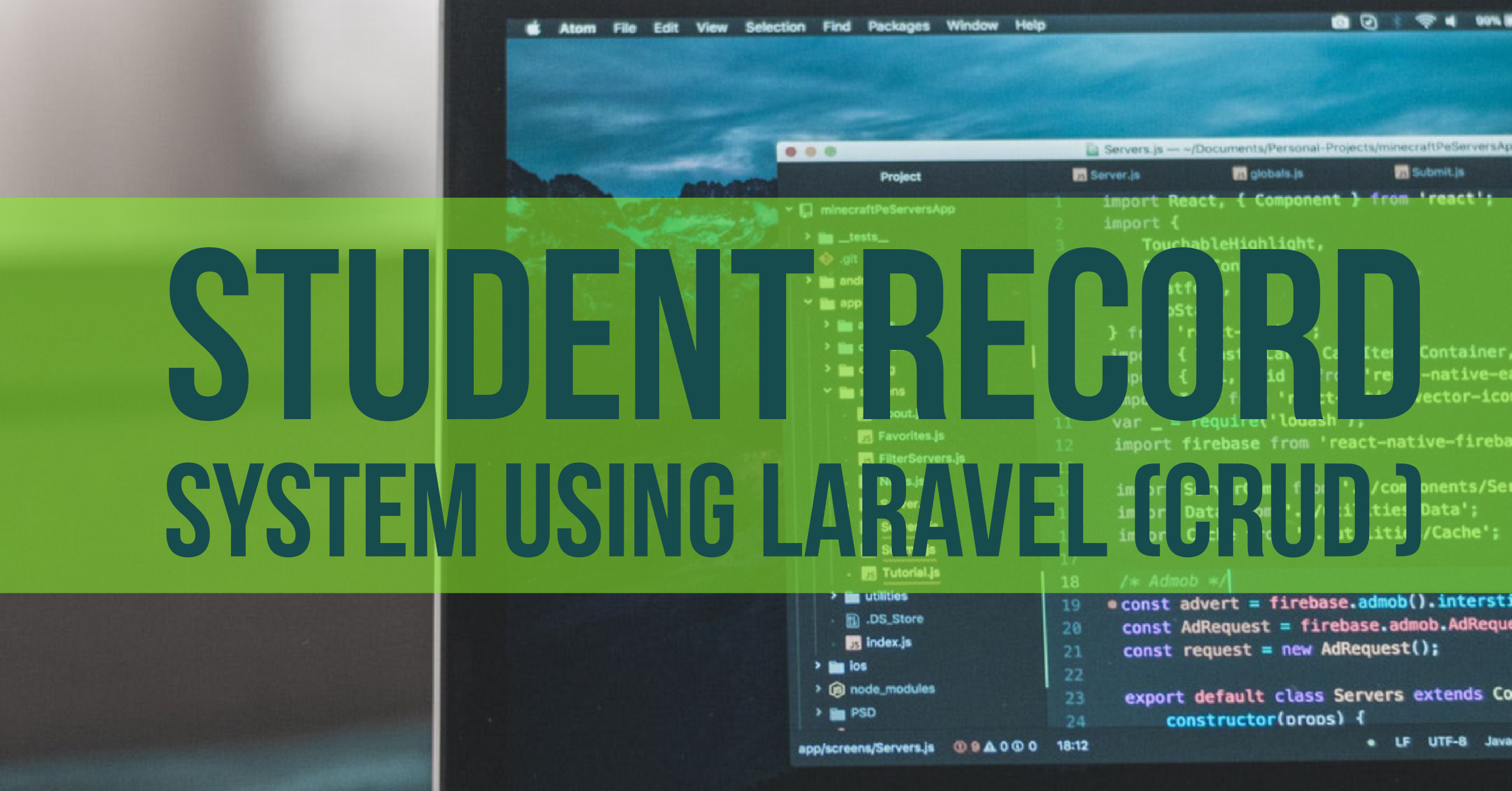 Student Record System  Using LARAVEL (CRUD)