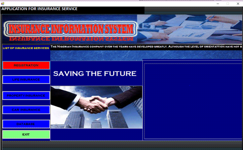 Insurance Service Managment System