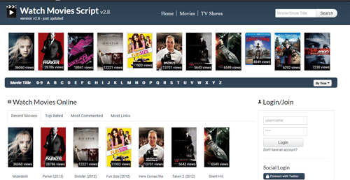 Design and Implementation of Movie Script Manager