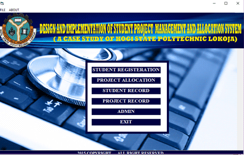 PROJECT MANGEMENT AND ALLOCATION SYSTEM