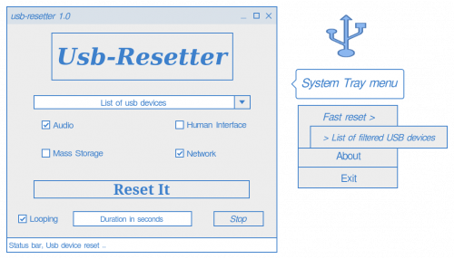 USB Resetter using Python
