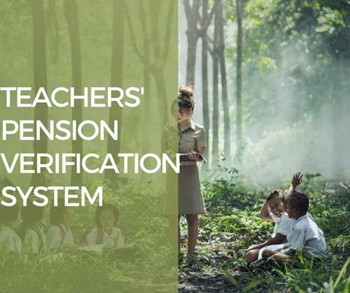 COMPUTERISED TEACHER PENSION VERIFICATION SYSTEM