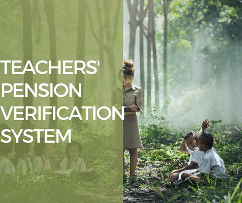 COMPUTERISED TEACHER PENSION VERIFICATION SYSTEM